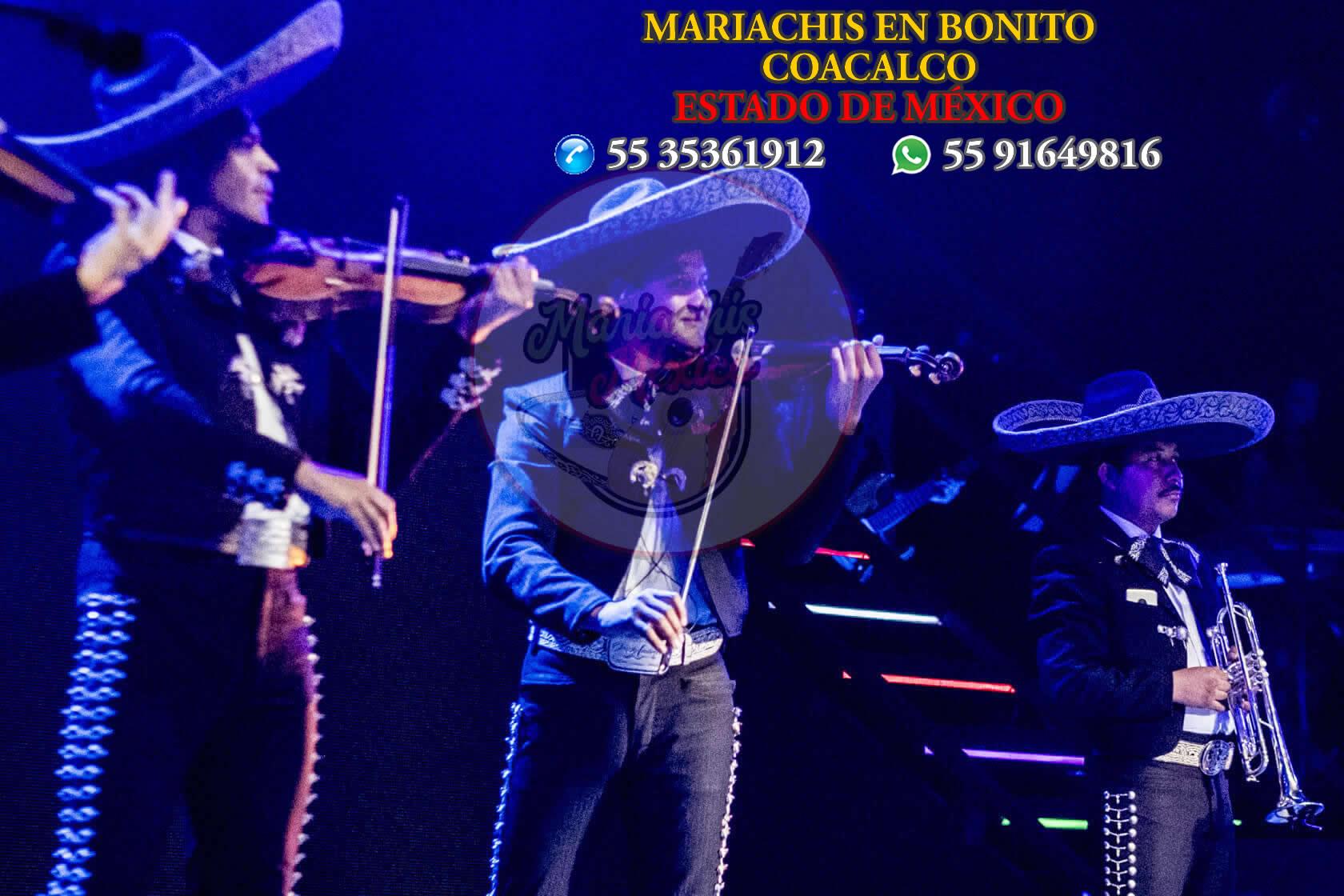 Mariachis en Coacalco