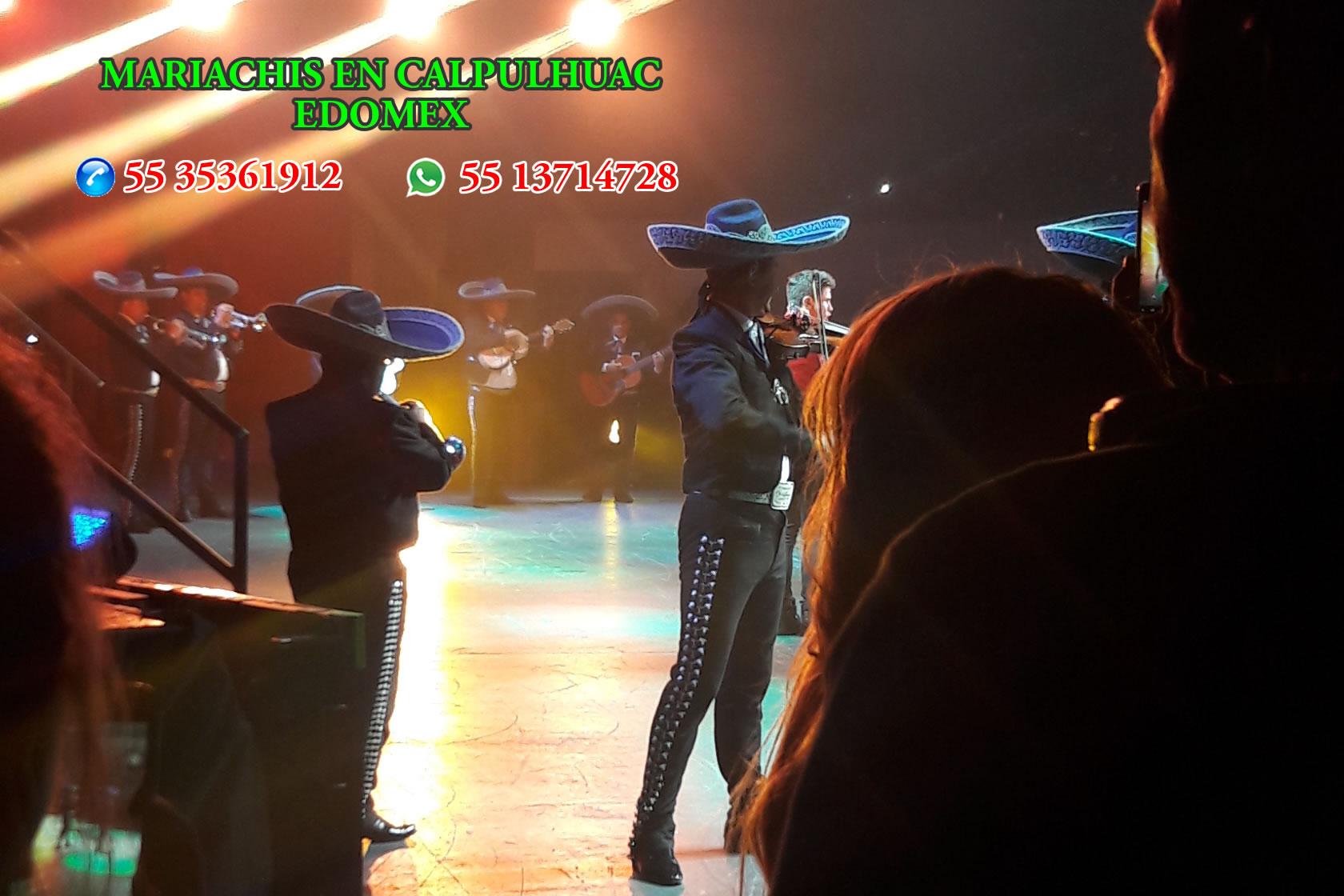 Mariachis en Calpulhuac