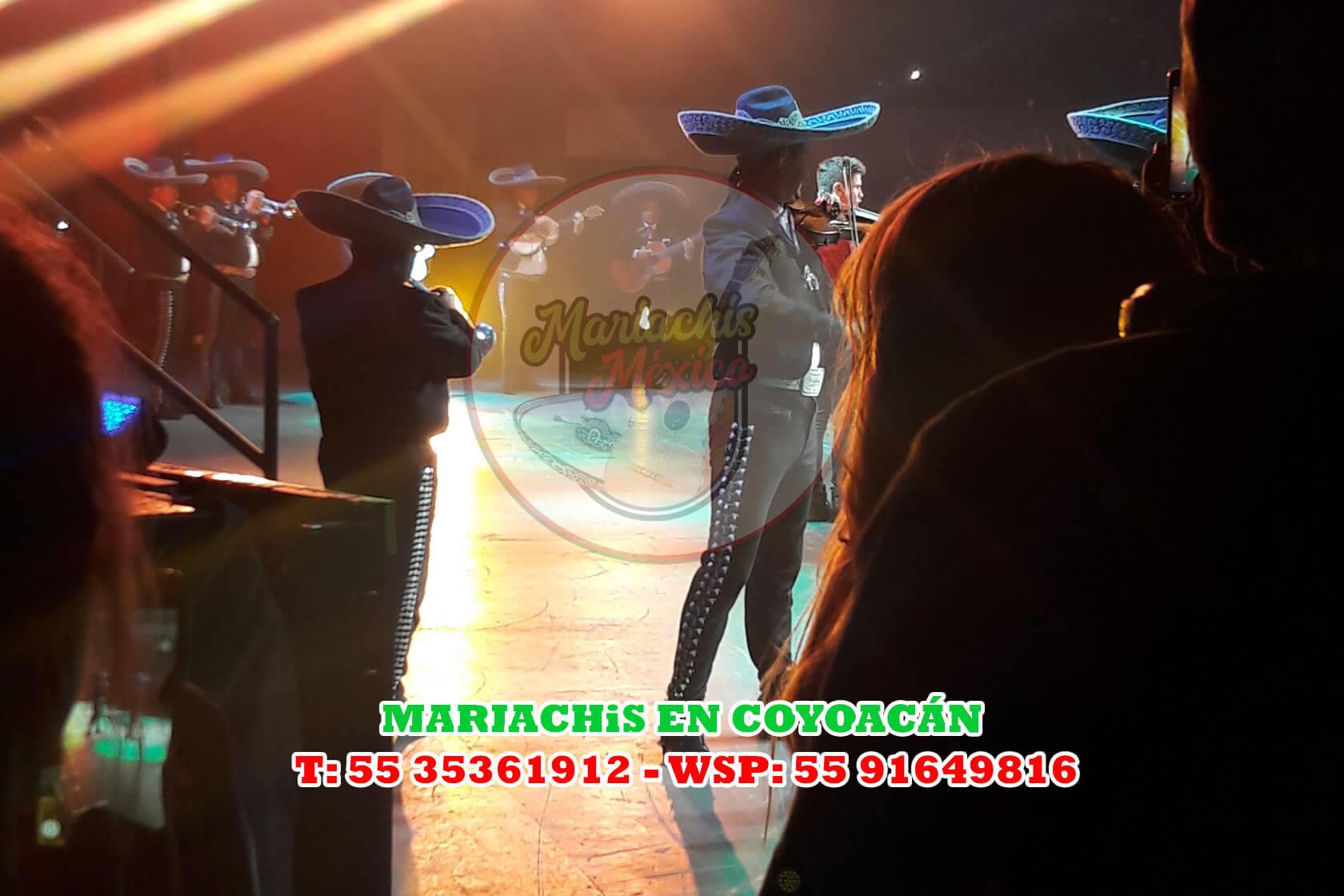 Mariachis en Coyoacán