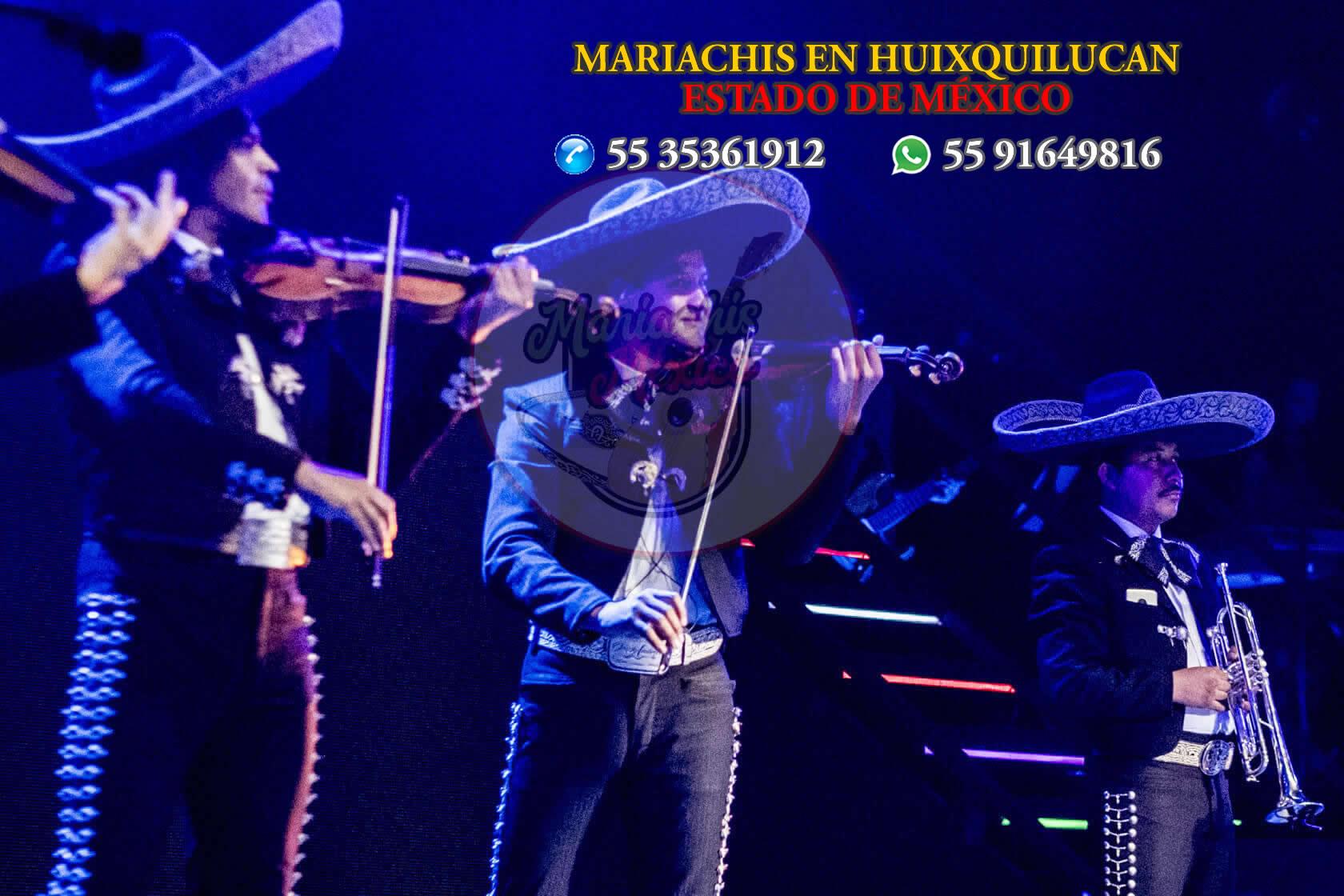 Mariachis en Huixquilucan