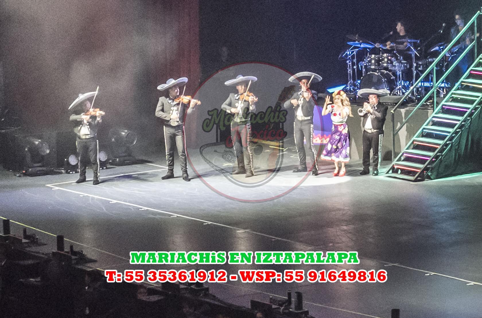 Mariachis en Iztapalapa