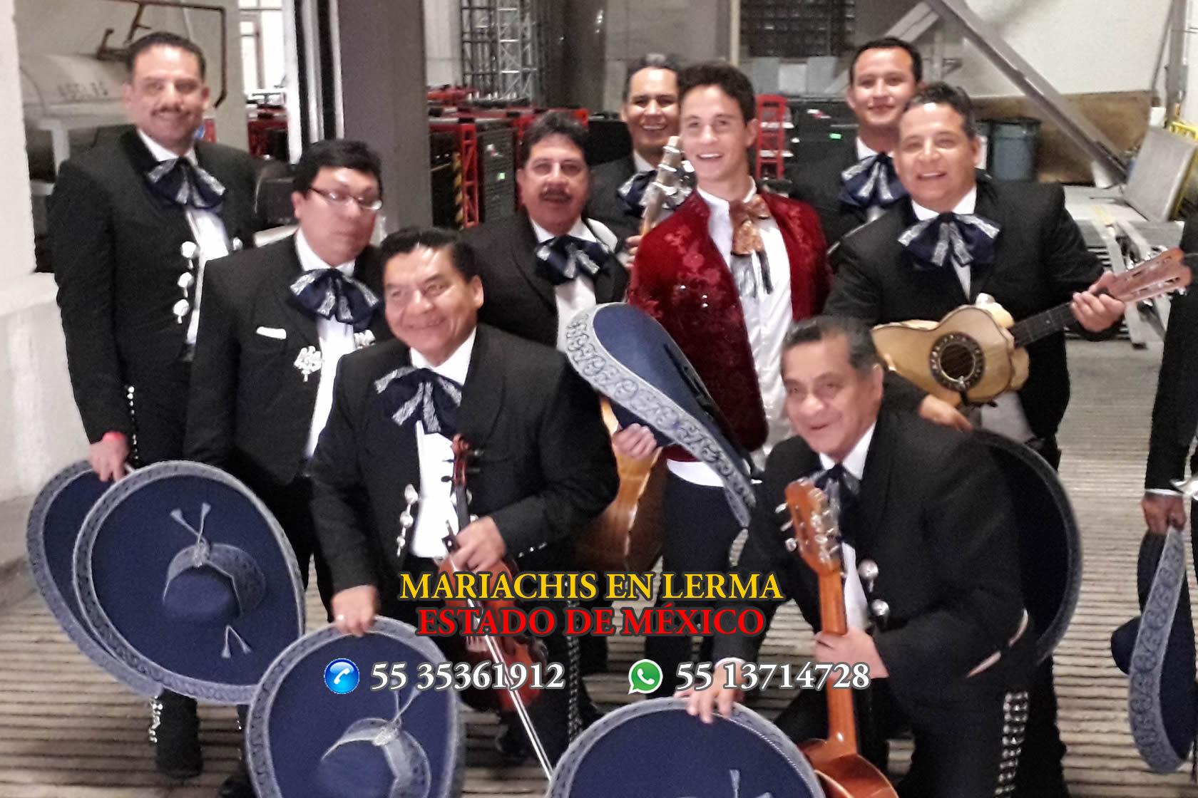 Mariachis en Lerma