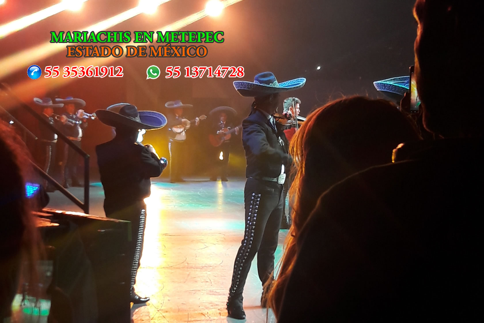 Mariachis en Metepec