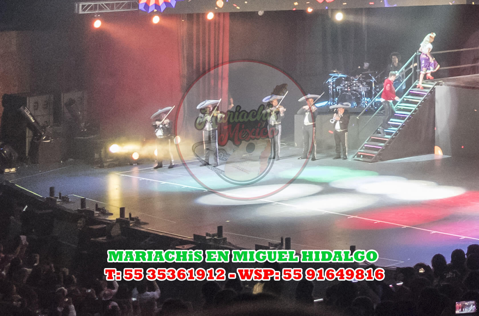Mariachis en Miguel Hidalgo