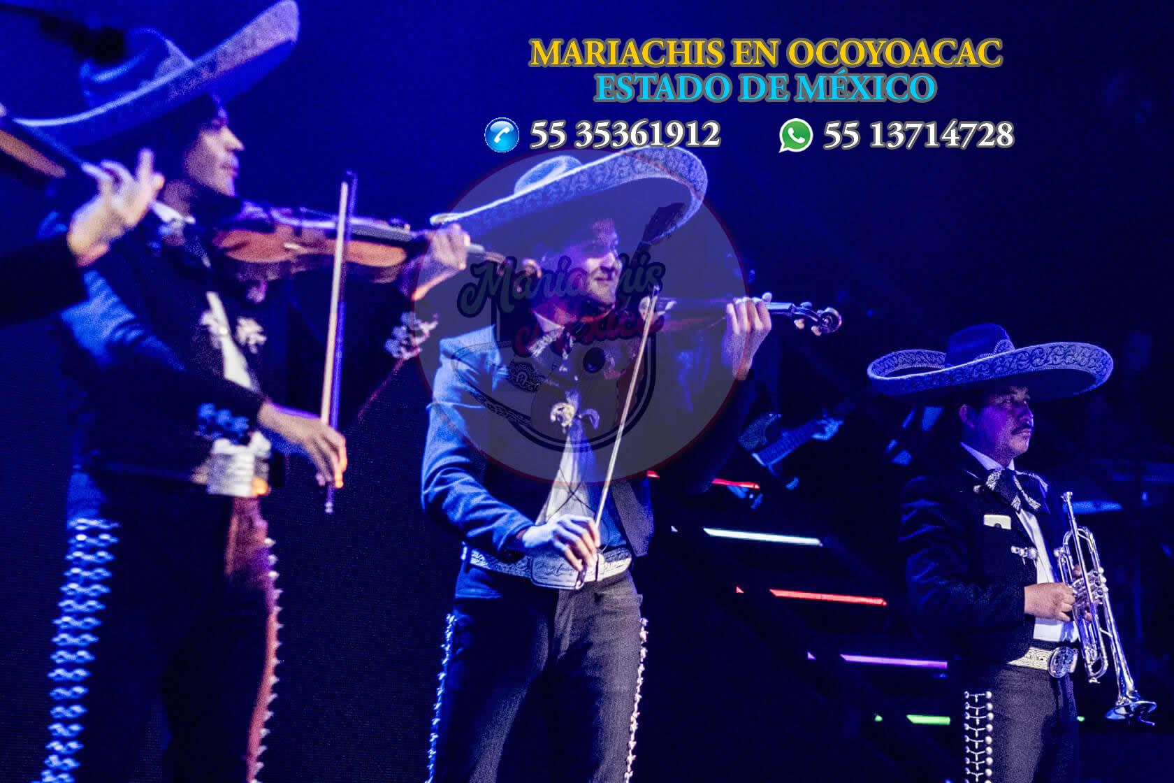 Mariachis en Ocoyoacac