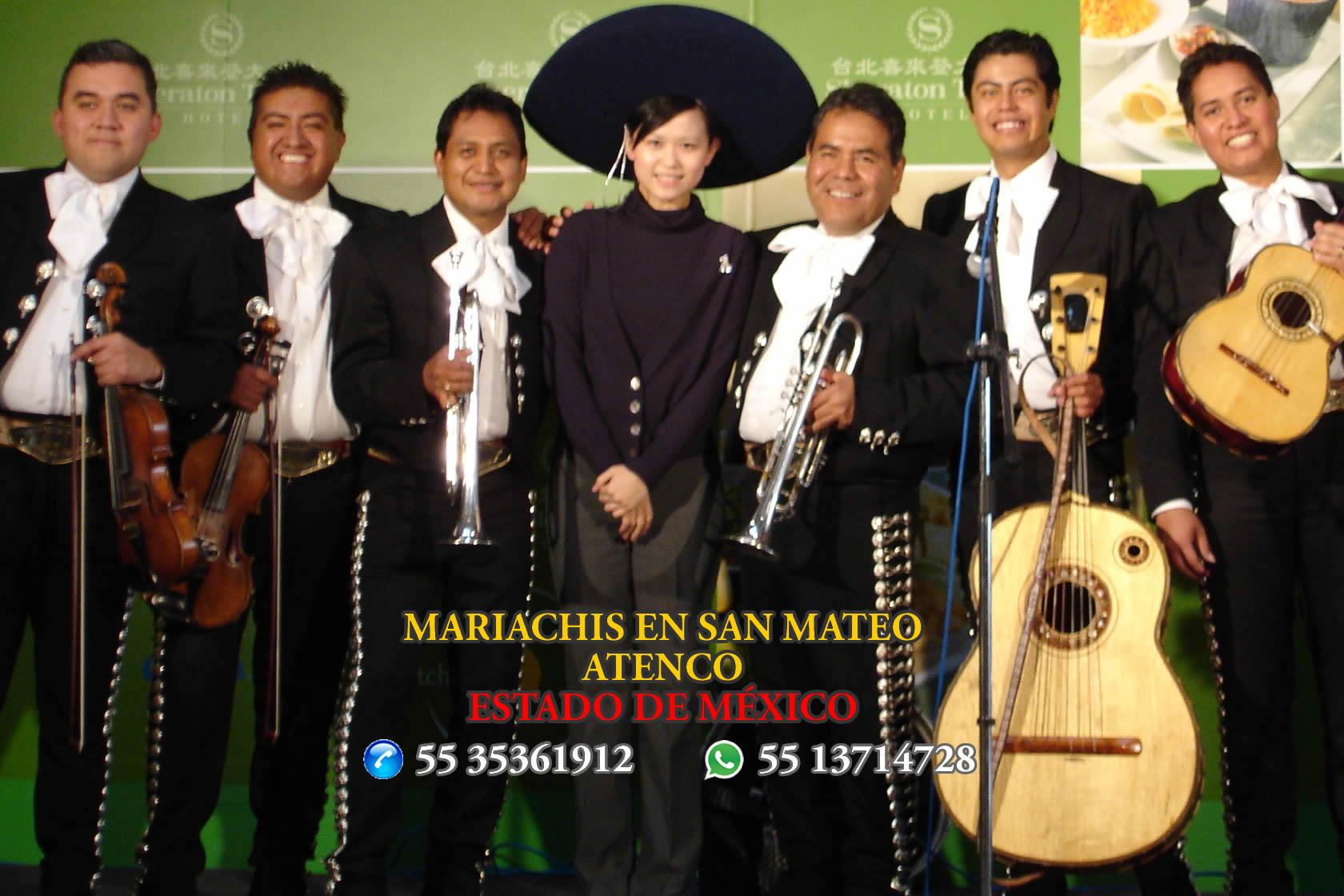 Mariachis en San Mateo Atenco