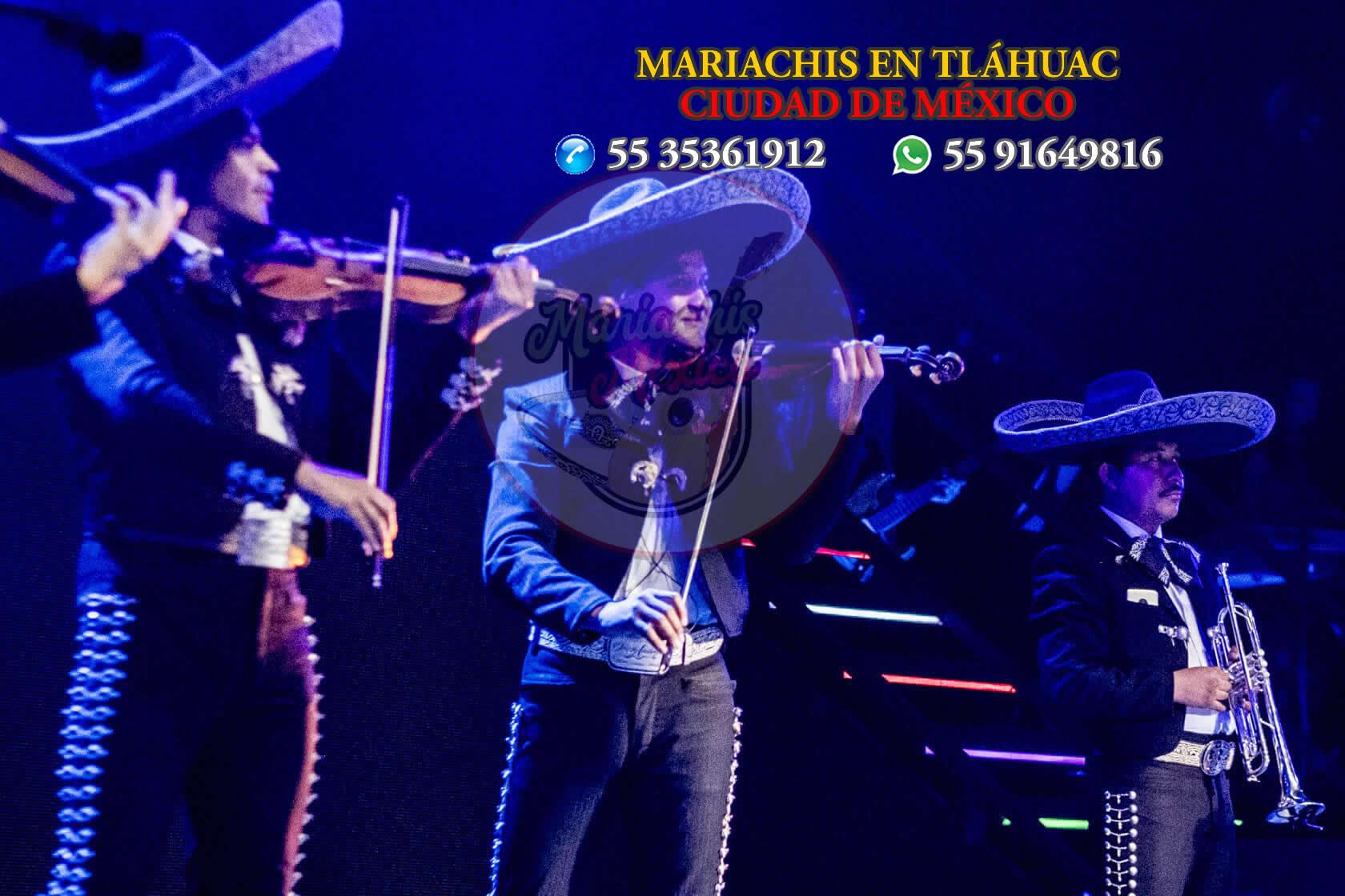 Mariachis en Tláhuac